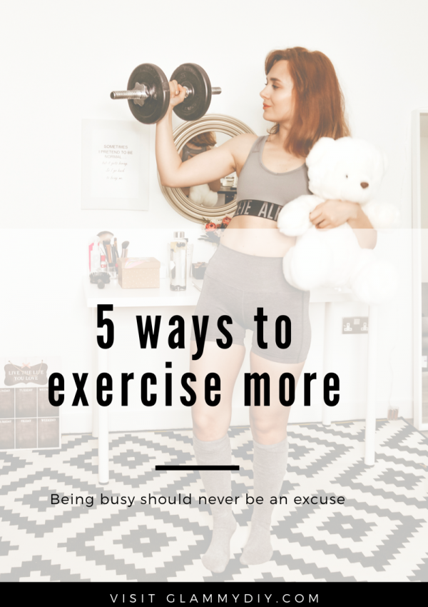 5 ways to exercise more