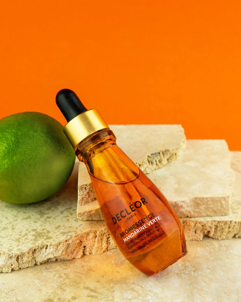 Decleor product photography hygge mood studio
